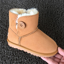 Wholesale Baby Boy Easter - Clearance On Sale 70% Off Winter Australia 3352 High Quality Kid Boys Girls Children Baby Warm Snow Boots Teenage Students Snow Winter Boots
