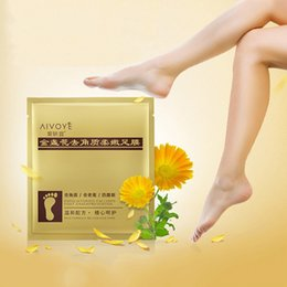 Wholesale Top Massager - AFY Foot Peeling Renewal Mask Cuticles Heel For Remove Dead Skin Excellent Feet Cleaning Foot Mask Top Quality 3006055