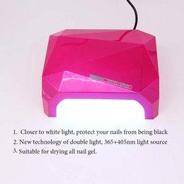 Wholesale New Machining Technology - New Technology Automatic sensor 36W UV Led Nail Lamp can Dryer all gel Polish Machine Nail Art Tools