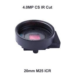 Wholesale Cctv Lens Cs Mount - 4.0MP HD IR Cut Filter ICR Switch CS Lens Mount Holder for Security CCTV Camera