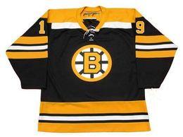 Старые хоккейные майки онлайн-Бостон Брюинз Джерси 18 ДЖОН ВЕНСИНК 1978 ДЭВ ПУТИН ДЖОР ТОРНТОН 19 ДЖОННИ Маккензи 19 НОРМАНД ЛЕВИЙЛ Винтаж Throwback Хоккейные Jerseys