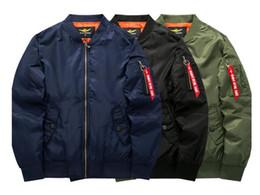 Wholesale Flight Jacket Xxl - 2018 Fashion men tops shark hoodies coat Embroidery Shark MA1 Flight Male Tide Shark Hoodie Men 's Couples Hooded Jackets