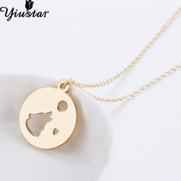 lovely bear jewelry Coupons - Yiustar Lovely Fashion Bear Head Pendant Necklace Romantic Long Chain Bear Heart Women Girls Chokers Statement Jewelry Kids Gift
