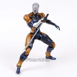 Wholesale Metal Gear Model - Play Arts Kai Metal Gear Solid Cyborg Ninja Gray Fox PVC Action Figure Collectible Model Toy