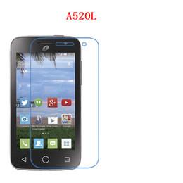 Wholesale star 3g - For Alcatel Pop Nova A520L, pop Star 3G,Fierce4 Pop 4+ 5056D, Flash2,Hero 2C 7500A, Carbon Fiber 9H Tempered Plexiglass Screen Protector