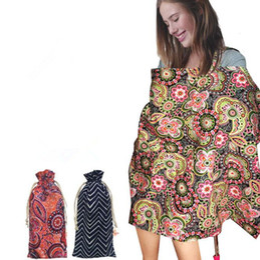 Wholesale Breast Wrap - Nursing Breast-feeding Shawl Nursing Privacy Wraps Pregnancy Lactation Covers Baby Breast Shelter Postpartum Towels CCA8932 20pcs