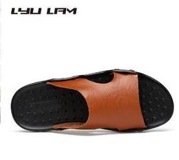 chaussures décontractées pour hommes Promotion Style britannique Casual Chaussures Slipper Hommes Marche Sandale Hommes Mode Hommes Sliders Chaussures D'été Light Beach Chaussures Hommes Casual Chaussures