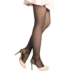 f8c0b162e16 Chinese 1 Pair HOT Fashion Sexy Womens Open Toe Sheer Pantyhose Ultra-Thin Tights  Pantyhose
