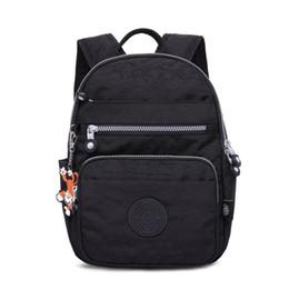 Catene di scimmie online-Nuove borse da donna zaino di design Mini borsa da moda con borsa da scuola in nylon a catena scimmia per borse da spalla donna