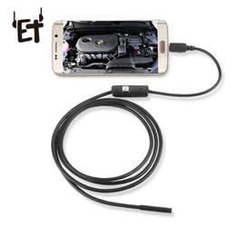 Canada ET endoscopique caméra endoscope USB avec 2 m de fil de serpent magnétique aimant 720p HD caméra de contrôle endoscopique caméra pour téléphones Android cheap inspection camera endoscope Offre