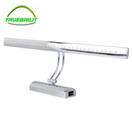 Wholesale Led Stainless Table Lamps - Led Bathroom Wall Lights 5W 40cm 7W 55CM Stainless steel Dressing Table Mirror Sconces LED Light Lamps luminaire Waterproof IP65