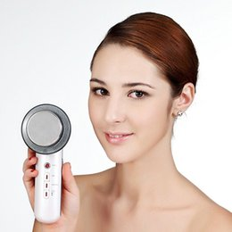Wholesale ems ultrasonic - Ultrasound Cavitation EMS Body Slimming Massager Weight Loss Lipo Anti Cellulite Fat Burner Galvanic Infrared Ultrasonic 3006052