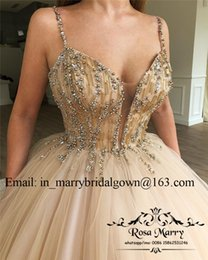 22c568bb980 Luxury Gold Sequined Sweet 16 Quinceanera Dresses 2018 Ball Gown Beaded  Debutante Masquerade Vestidos De 15 Anos Girls Birthday Prom Gowns