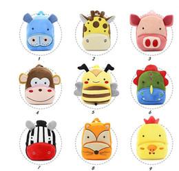 nette rucksäcke für high school Rabatt Qualitätskarikaturrucksack nettes Säuglingsplüschtierbuchtasche-Art und Weisebaby-Mädchen-Schulterbeutelschultaschen Zoo-Kindergartenrucksäcke