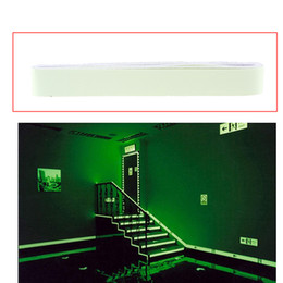 Wholesale Vinyl Stairs - Luminous Tape 4m DIY Self-adhesive Stage Stair Glow in the Dark Warning Strip Emergency Lines Wall Sticker cinta luminicente