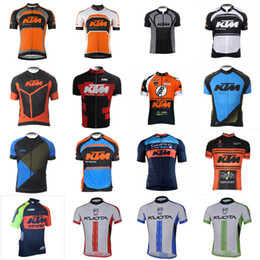 Wholesale Kuota Clothing - KTM KUOTA team Cycling Short Sleeves jersey Mountain Bike Clothes Short Sleeve Quick Dry Bicycle Sportswear outdoor C2409