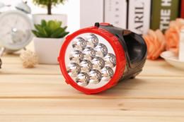 ultrafire q5 mini zoomable taschenlampe Rabatt 12LED Licht Taschenlampe Outdoor Camping tragbaren Suchscheinwerfer