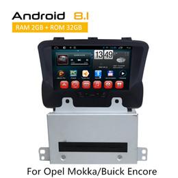 Leitor de dvd duplo chinês on-line-Dupla Din Digital CAR DVD Player Para Opel Mokka / Buick Encore 2008-2015 Car Stereo AUX Bluetooth câmera traseira