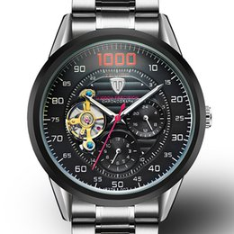 Wholesale Fashion Watchs - Men Watches Automatic Mechanical WatchS Male Tourbillon Clock Silver Fashion Skeleton Watch Top Brand Wristwatch Relogio Masculino