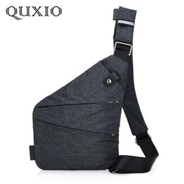 pillow storage bags Coupons - 2018 new casual trend digital men's storage bag multi-function personal shoulder anti-theft bag chest Messenger CZ02
