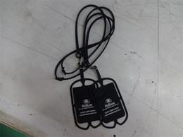 Deutschland Wholesale Custom Logo gedruckt Silikon billig Handy Lanyard Silikon Handy-Kartenhalter mit Strap Neck String ID Card Neck Taschen cheap cheap mobile phones wholesale Versorgung