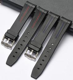 КЛИМАТИК новый силиконовой резины группы часы ремни водонепроницаемый ремешок 20мм 21мм от Поставщики наушники для apple