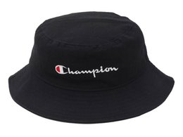 sun visor hats for men Promo Codes - Free Shipping Champion Bucket Hat For Men Women Foldable Caps Black Fisherman Beach Sun Visor Sale Camping Fishing Hunting
