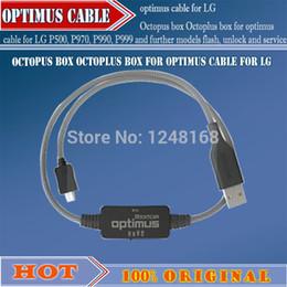 Desbloqueio de flash box on-line-Venda Por Atacado Octoplus caixa para cabo optimus para LG P500, P970, P990, P999 e outros modelos de flash, desbloqueio e serviço