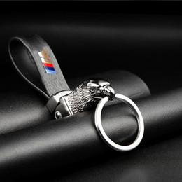 Argentina Eagle Head Car Styling Car Key Ring Holder Keychain Correa para hombre Car Key Chain para BMW E39 E46 E60 E90 F10 F30 serie F18 E36 X Suministro