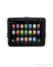 Wholesale Vw Tiguan Gps - New Deckless Touch button 8 inch Android 7.1 Car dvd Radio playerFor VW Magotan Caddy Passat Sagitar Tiguan Touran Jetta Seat etc 2006-2012