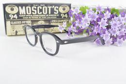 Wholesale depp sunglasses - Brand Designer-Moscot Sunglasses Lemtosh Johnny Depp Glasses Frame High Quality Round Men Polarized Sunglasses Optional Myopia With Case