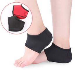 padded heel socks Promo Codes - Pair of Plantar Fasciitis Heel Spurs Pads Heel Ankle Wrap Pads Pain Relief Neoprene Wrap Socks Winter Keep Warm