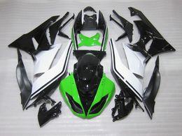 Wholesale Kawasaki 636 Motor - New ABS Plastic Motor Full Fairings Kits Fit For kawasaki Ninja ZX6R ZX-6R 636 2009 2010 2011 2012 09 10 11 12 6R Bodywork set UK