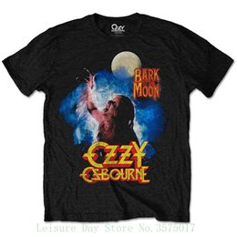 Ozzy Osbourne Bark à la lune Rock Heavy Metal officiel Tee-shirt Mens unisexe Hot Cheap hommes ? partir de fabricateur
