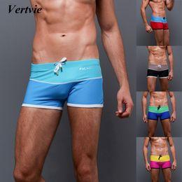 635b18d9e3a0e0 Vertvie Men Swimming Trunks Men's Bathing Suit Briefs Shorts Men Beach Swimwear  Mens Sports Suits Swimsuit Swimwear Trunk