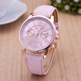 Wholesale Yellow Glass Candy - Foreign trade sells OKTIME fashionable small and fresh belt watch candy color change color student watch.