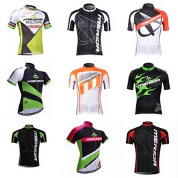 Wholesale merida bikes - MERIDA team Cycling Short Sleeves jersey 2018 Latest Bike Top Shirt Size XS-4XL Riding Sweatshirt Outdoor D310
