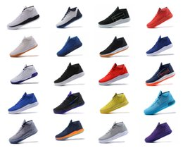 Wholesale Ad Flat - Kobe AD EP Rise Men Basketball Shoes Athletics Sneakers Sport Outdoor Boots Size 7-12 High Quality