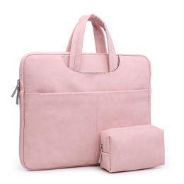 Mulheres bolsas de couro PU laptop bolsa de negócios maleta de ombro sacos de notebook feminino laptop bag fashion casual preto 2018 de