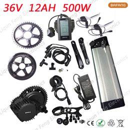 36V 12AH Silver Fish Batterie au lithium-ion E-bike + kit de vélo électrique 500W 8fun / bafang 36V Moteur Wheel Wheel BBS02 roue électrique ? partir de fabricateur