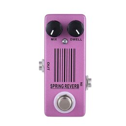 Wholesale guitar effects pedals metal - MOSKY Spring Reverb Single Mini Size Guitar Effect Pedal Metal High Quality