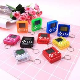 Canada Ultra-petit Mini Tetris Enfants Console De Jeu De Poche Portable LCD Joueurs Enfants Jouet Éducatif Électronique Jouets Classique cheap electronics children Offre