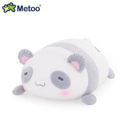 lion toy dolls Coupons - 34cm Plush Cute Lovely Stuffed Baby Kids Toys for Girls Birthday Christmas Gift Lion Panda Rabbit Bear Cushion Pillow Metoo Doll