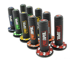 "Gummi-gel-fahrradgriffe online-Universal 1 Paar Motorrad Pro Kegel Dirt Pit Bike Motocross 7/8 ""Lenker Gummi Gel Hand Grips Bremse Hände 22mm 24mm"