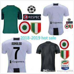 8ef6727d0 2019 man Juventus Soccer Jersey 18 19 Home away 7 Ronaldo Soccer Shirt  CHIELLINI HIGUAIN DYBALA MANDZUKIC boy Football uniform Sales