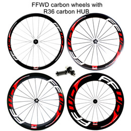 Outlet!! R36 carbon hub 38 50 60 88mm Clincher with FFWD F4R F5R F6R F9R paint 700C full carbon road bike wheels wheelset
