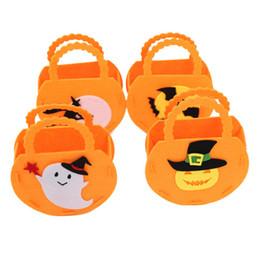 Canada Sac à main en citrouille Décorations de fête d'Halloween Trucs de bonbons pour enfants Sacs pour cadeaux d'Halloween sac Halloween Offre