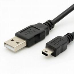 USB tipo A macho para cabo macho Mini B (5 pinos) de