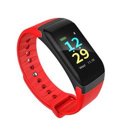 Wholesale Multi Function Meters - multi-function F601 smart wristband intelligent bracelet ip67 waterproof Sleep Heart Rate Pulse Tracker blood Pressure Meter Passometer