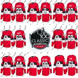 Camisa oduya on-line-67 Ben Harpur Jersey 2018 Temporada 100 Clássico 33 Fredrik Claesson 72 Thomas Chabot 29 Camisolas De Hóquei De Johnny Oduya Ottawa Senators Custom